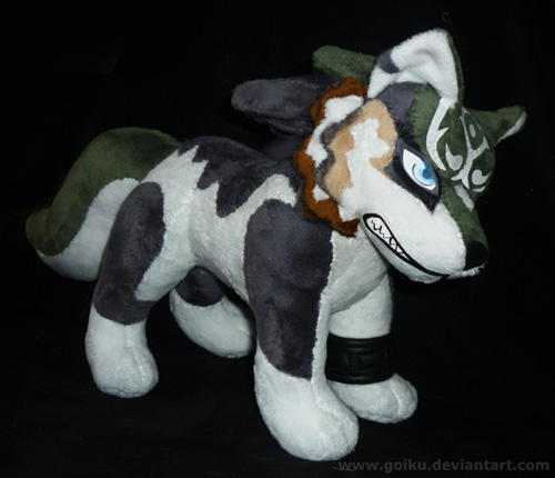 Zelda - Wolf Link - FINISHED 1 by goiku