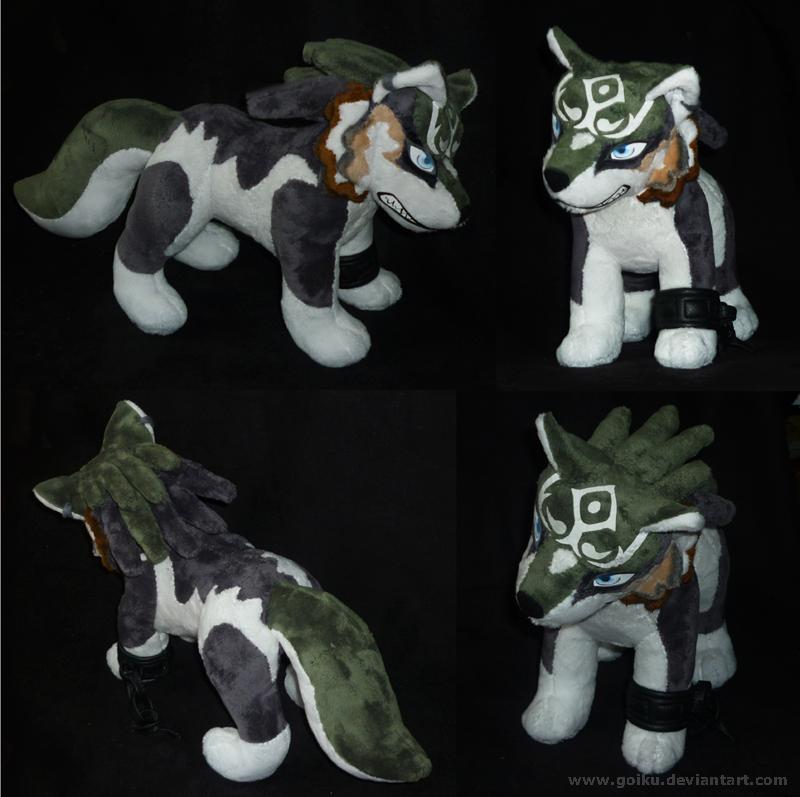 Zelda - Wolf Link - FINISHED 2 by goiku
