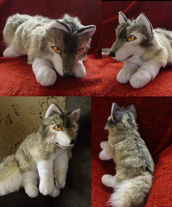Floppy Grey wolf - FINISHED by goiku