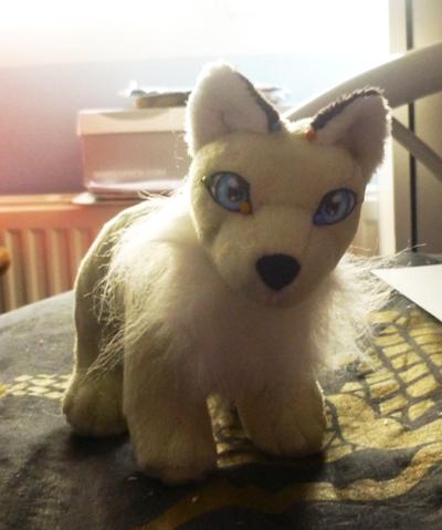 Mint kitsune WIP by goiku