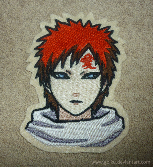 Kazekage Gaara patch by goiku