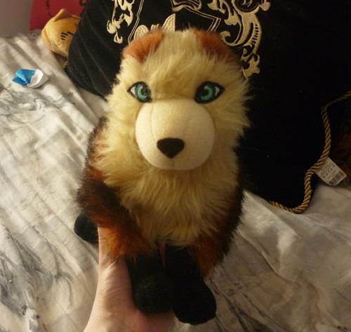 Auburn fox WIP 2 by goiku