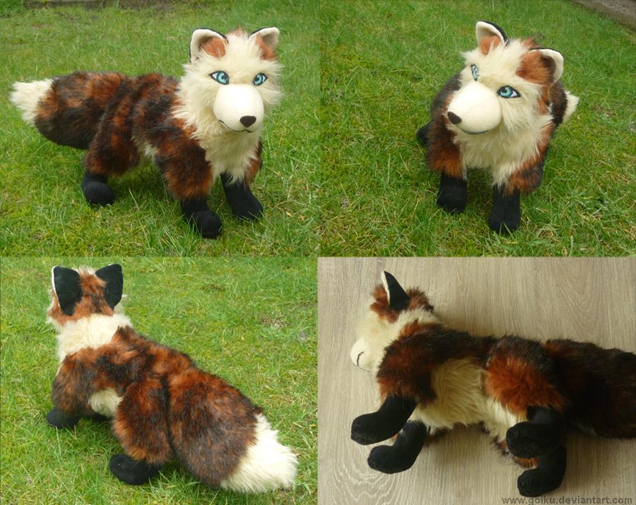 Auburn fox 2 by goiku