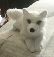 Another little white wolf c: by CyanFox3