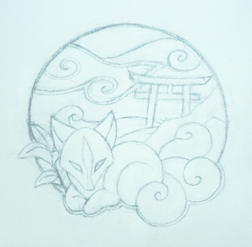 Patch design: Shrine of Inari - Finished by goiku