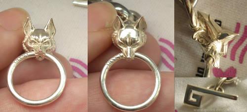 Custom Inari fox Bracelet - Close-up