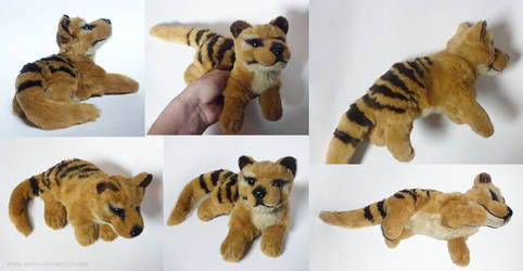 SOLD Thylacine - small floppy by CyanFox3