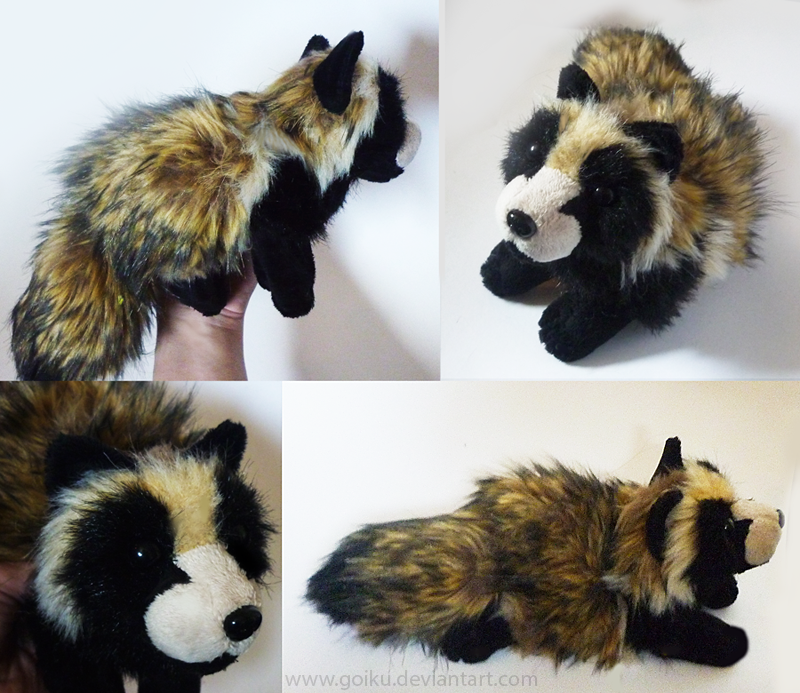 Tanuki - small floppy by goiku