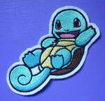 Embroidered Squirtle patch