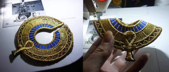 Anubis collar finished
