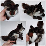 Brown merle wolf ~ Small floppy