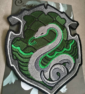 HP Slytherin crest ~ XL patch