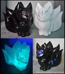 LED Tealight fox 3D printed model