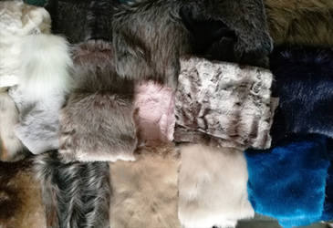 New Faux furs are in! by CyanFox3
