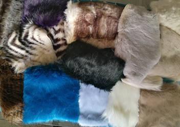 Even more faux fur by CyanFox3