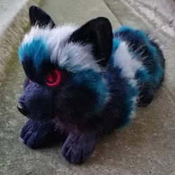 EBAY AUCTION: Azure Blue Fox ~ Small floppy by CyanFox3
