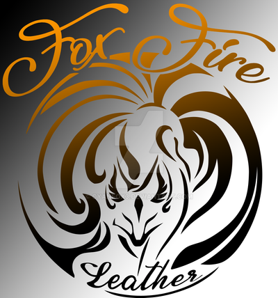 Commission: FoxFire Leather logo by CyanFox3 on DeviantArt