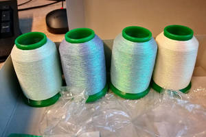 NEW PRODUCT! Iridescent embroidery thread