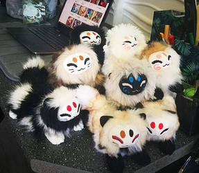 Big Mewkin plushie sale tomorrow!