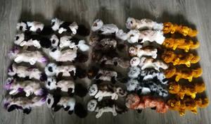 FULL line-up Mewkin plushies