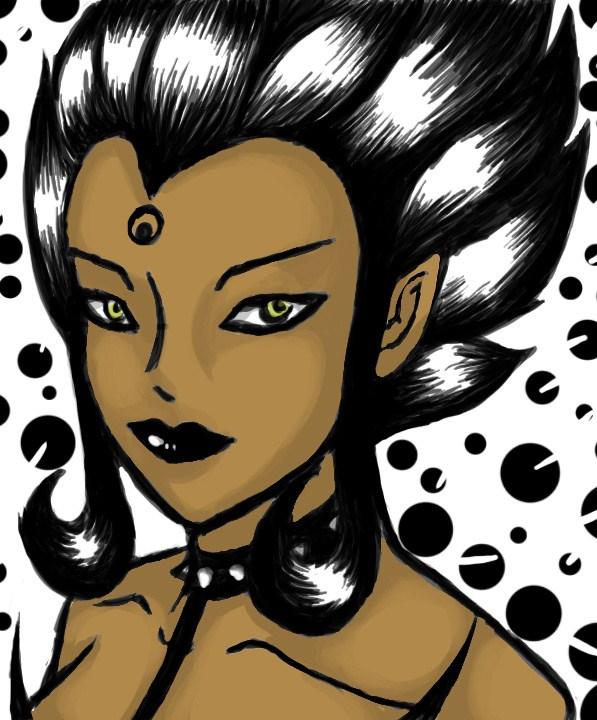 Shadow Evelynn by 13anana