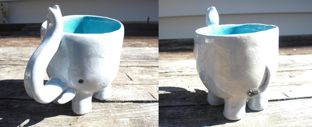 Elephant Mug by 13anana