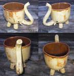 Elephant Mug -Yellow-