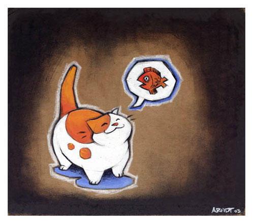Fat Cat Wallpaper - WallpaperSafari