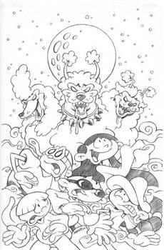 Kids Next Door Comic Cover