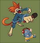 DJ Monkey Mole Color