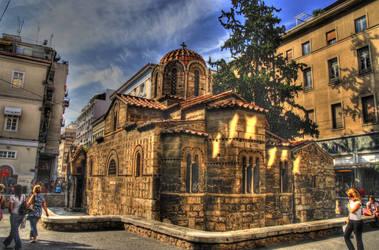Kapnikarea church by deninho