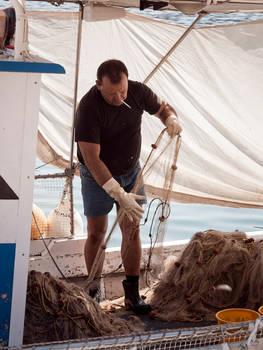 Fisherman's work