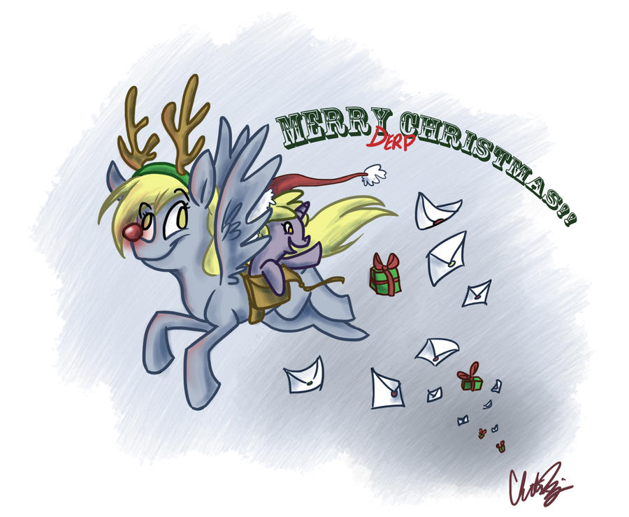 Happy Holidays, Everypony by RomaniZ