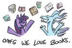 WE READ BOOKS