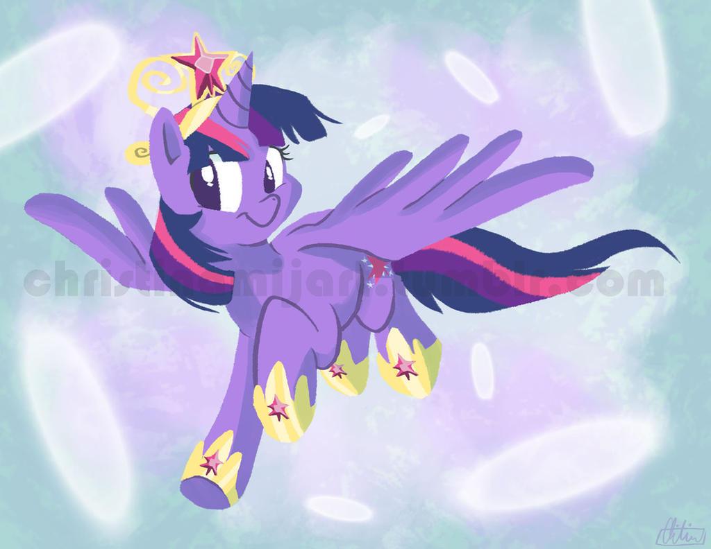 Alicorn Twilight Sparkle by RomaniZ