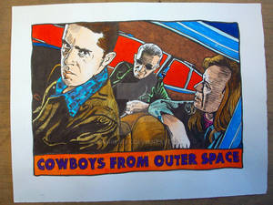 Cowboys From Outer Space in Azerty Blues