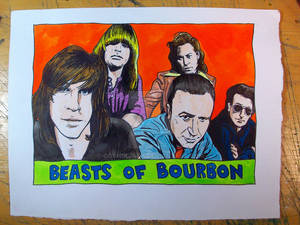 Beasts of Bourbon in Azerty Blues