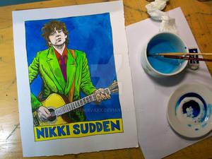 Nikki Sudden in Azerty Blues