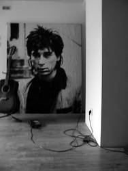 Johnny Thunders collage
