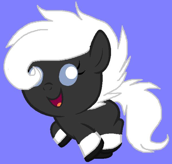 Aurora foal by Ponyness1
