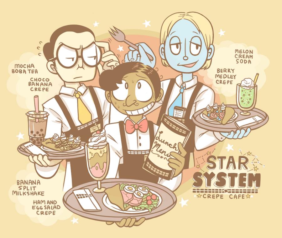 Star System Crepe Cafe by aychh