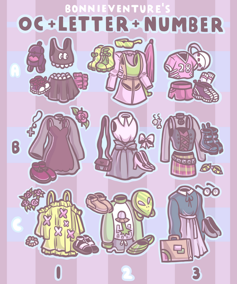 OC + Letter + Number By Aychh On DeviantArt