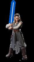 Rey Star Wars PNG by ArtDelMar