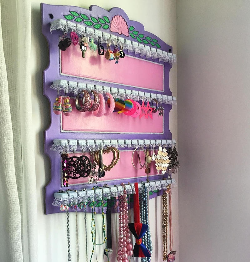 Custom Jewelry Holder by PaulineFrench