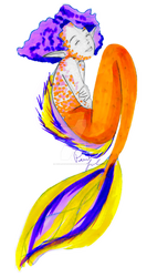 Koi Fish Mermaid