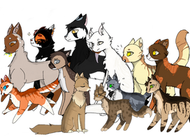 Foxclan Kits + Apprentices by tarchie