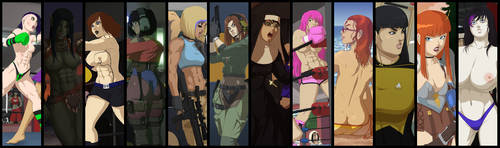 Ladies Of 2018. by TangledSyntax