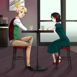 Request: Jasper and Monica