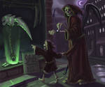Grim Reaper and Son
