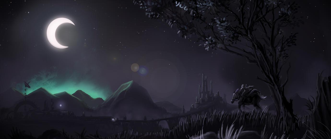 Fantasy Landscape by Lucas-Zebroski